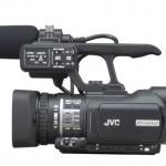 JVC HD GY-HM100 handheld camera
